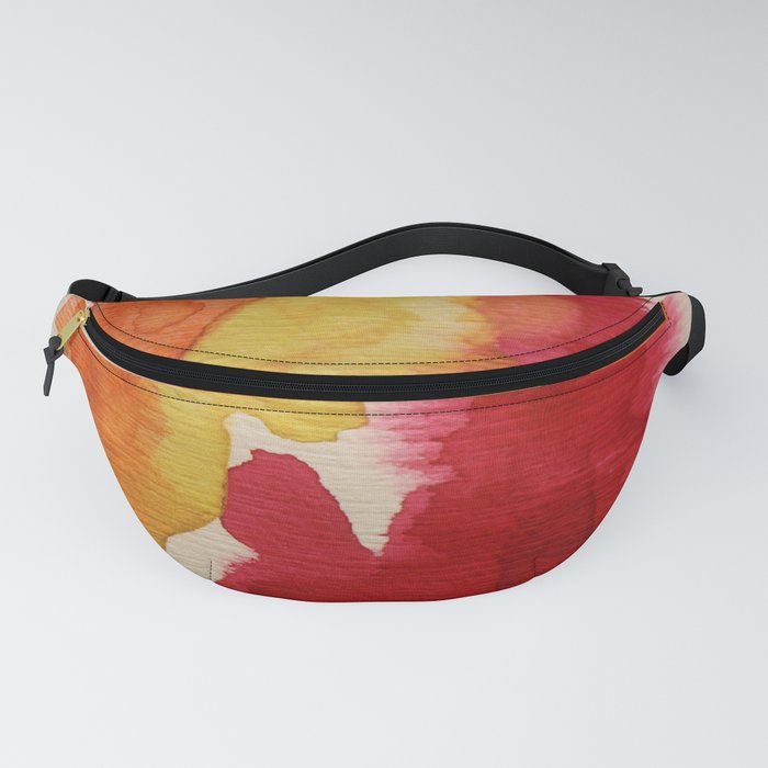 Yellow And Red Tones Fanny Pack
