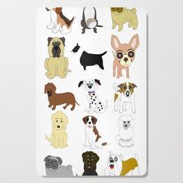 Pet dogs design Cutting Board