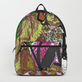 Whacky Bags pattern Backpack