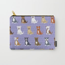 American PIT BULL TERRIERS Carry-All Pouch