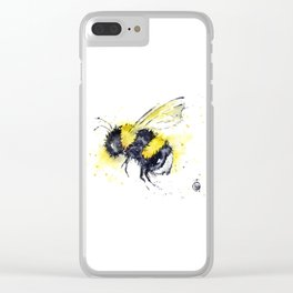 Bumble Bee - Buzz Clear iPhone Case
