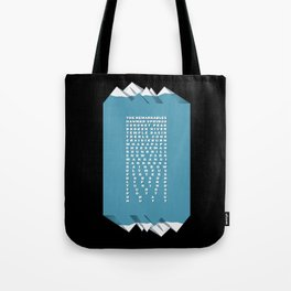 NZ Ski Fields Tote Bag