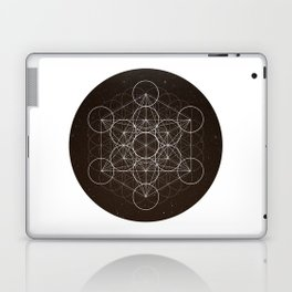 Metatrons Cube Is Out Of Space Laptop & iPad Skin