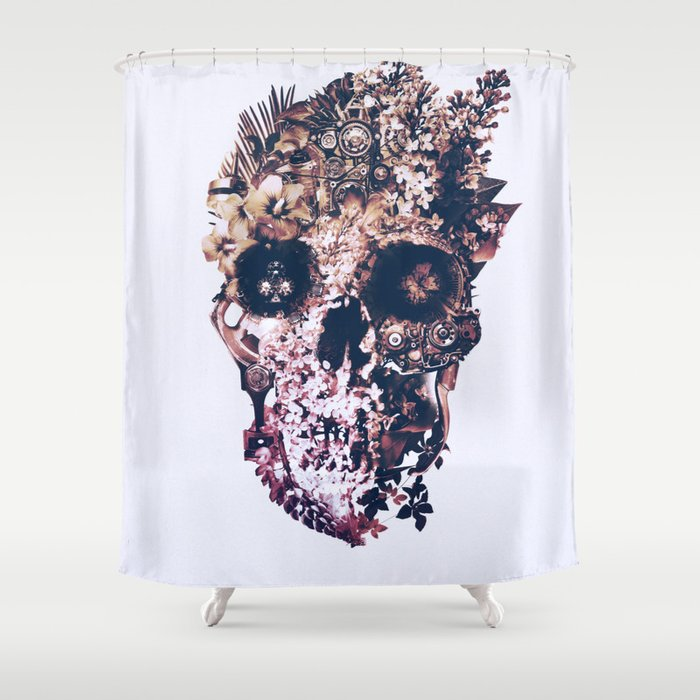 Metamorphosis Light Shower Curtain