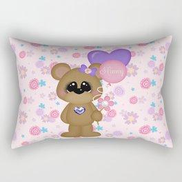 Mommy Bear Loves his Mommy Rectangular Pillow