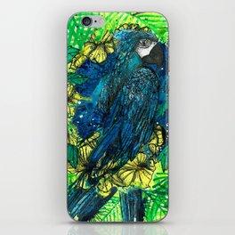 Macaw Ipê Flower iPhone Skin