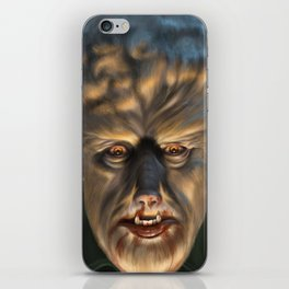 The Wolfman iPhone Skin
