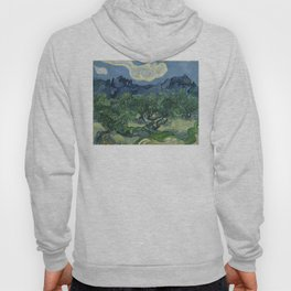Vincent van Gogh - Olive Trees in a Mountainous Landscape Hoody