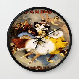 Vintage poster - The Sandow Wall Clock