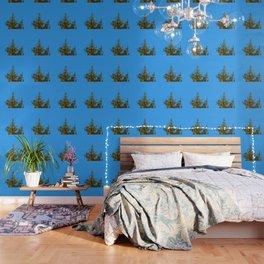 Christmas tree topper Wallpaper