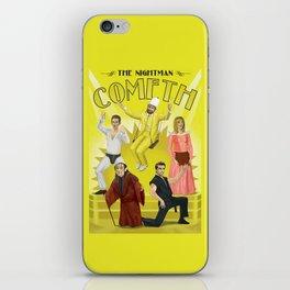 It's Always Sunny 'Nightman Cometh' Broadway Poster iPhone Skin