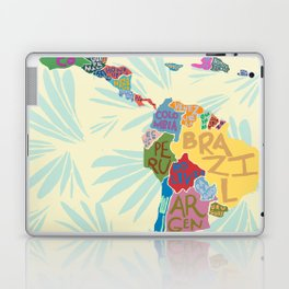 Map. Mapa. Carte. Laptop & iPad Skin