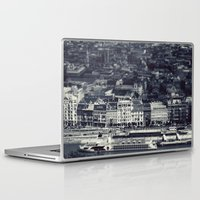 budapest Laptop & iPad Skins featuring Budapest by farsidian