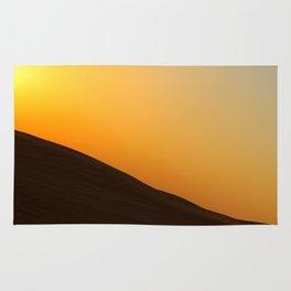 Sunset in Dubai Desert Rug