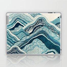 Blue Hike Laptop & iPad Skin