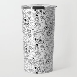 """Cells and bacteria's party"" vol 3 Travel Mug"