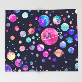 From outer space Throw Blanket