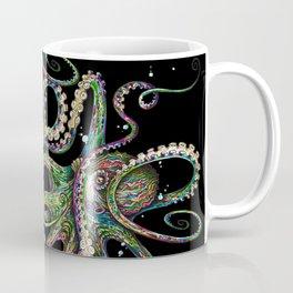 Octopsychedelia (black) Coffee Mug