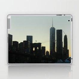New York City Skyline at Dusk Laptop & iPad Skin