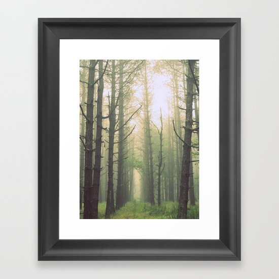 Obscurity Framed Art Print