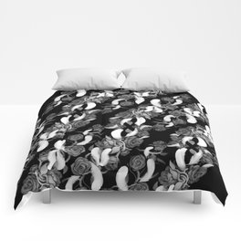 Roses and Feathers Comforters