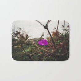 Lonely flower of Naszály mountain Bath Mat