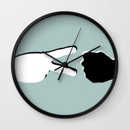 diplomacy (shadows) Wall Clock