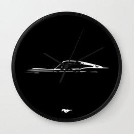 Pure Mustang Wall Clock
