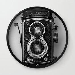 Rolliflex Camera Wall Clock