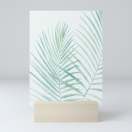 Cool Minty Tropics Mini Art Print