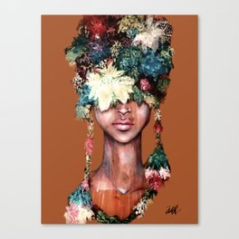 HOW THE QUEEN GROWS Canvas Print