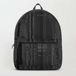 Geometric Texture Power Backpack