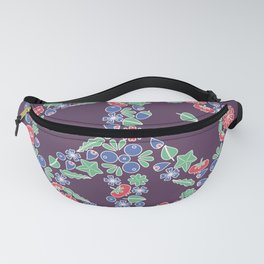 Peace. Floral wreath Fanny Pack