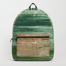 Artichoke abstract watercolor Backpack
