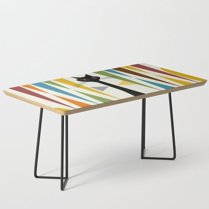 Mid-Century Modern Art Cat 2 Coffee Table