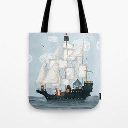 a nautical adventure Tote Bag