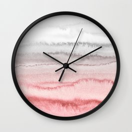 WITHIN THE TIDES - ROSE TO GREY Wall Clock