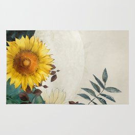 sunflowers garden country dreams Rug