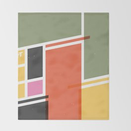 SECRET CYCLING FLAG - VOIGT Throw Blanket