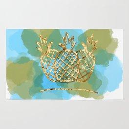 pineapple paradise Rug