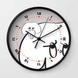Animal Testing - Really people? Wall Clock