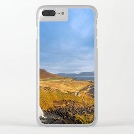 Kirkjufell. Clear iPhone Case