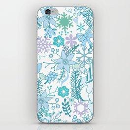 Bright xmas pattern iPhone Skin
