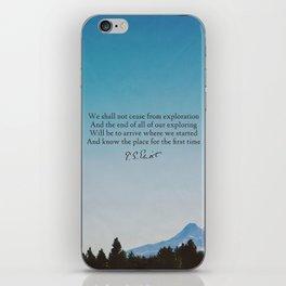 T.S. Eliot: Exploration iPhone Skin