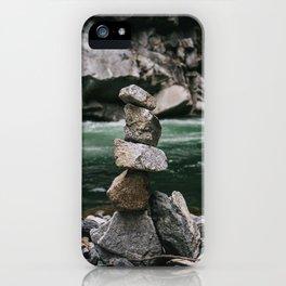 Riverside Balance iPhone Case
