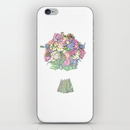 Bouquet of Flowers iPhone Skin
