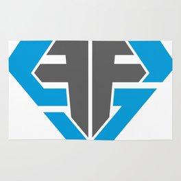 Finish Strong Fitness Logo Rug