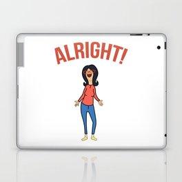 Linda Inspired Alright Belcher Mom Laptop & iPad Skin