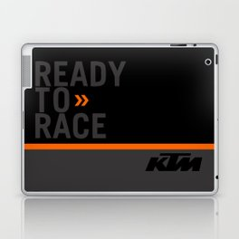 KTM Black Laptop & iPad Skin