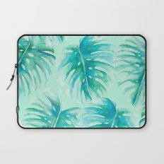 Paradise Palms Mint Laptop Sleeve